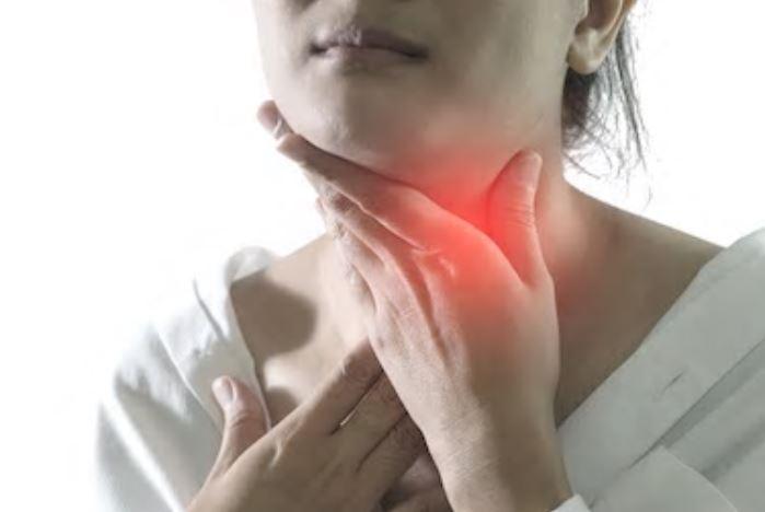 Les ganglions lymphatiques augmentent en fonction de l'importance de l'inflammation.